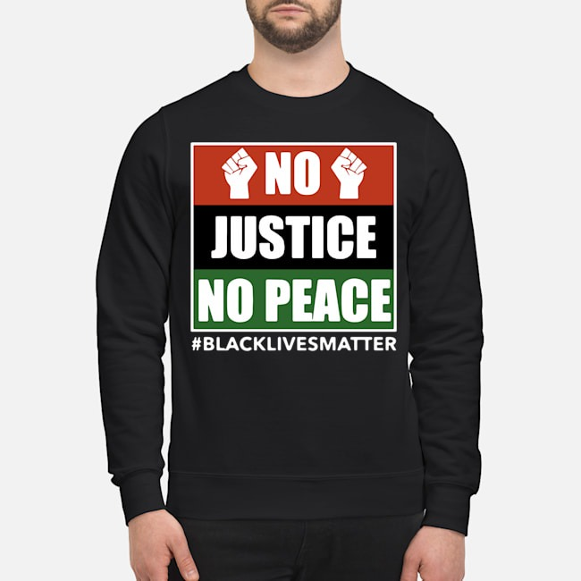 No Justice No Peace Black Lives Matter 2020 Sweater