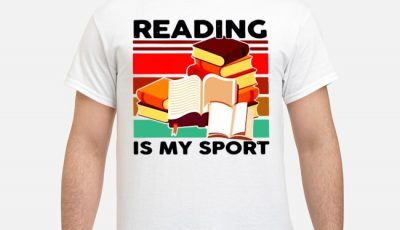 Reading Books Is My Sport Vintage Shirt