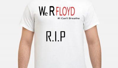 Rip George Floyd I Can't Breathe Shirt