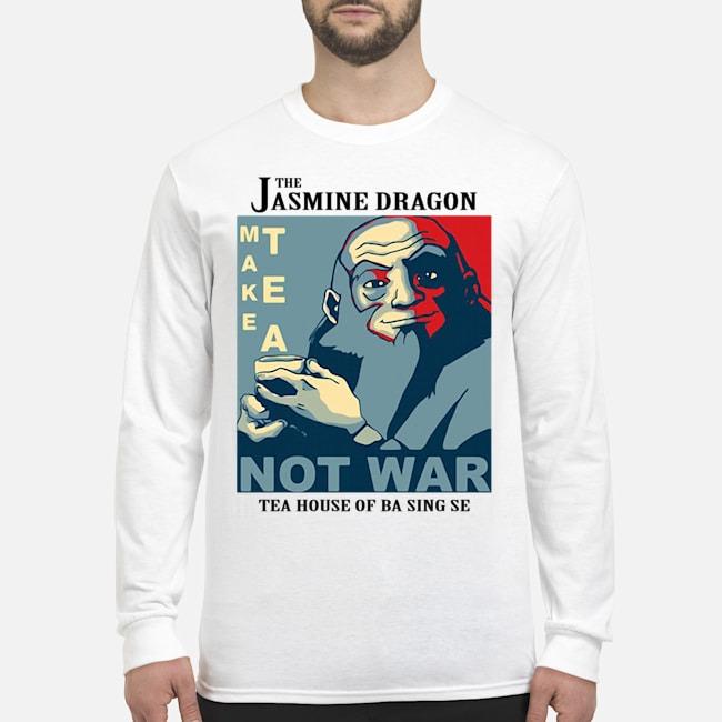 The Jasmine Dragon Make Tea Not War 2020 Long-Sleeved