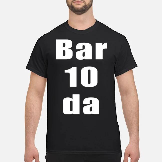 Bartender bar 10 da bartender shirt