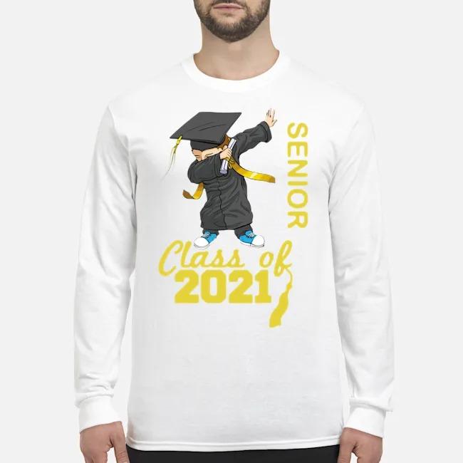Class of 2021 senior year 21 cute grad Long-Sleeved