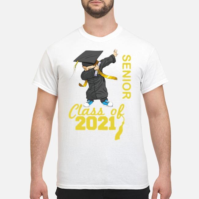 Class of 2021 senior year 21 cute grad shirt