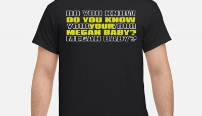 Do You Know Your Megan Baby 2020 Shirt