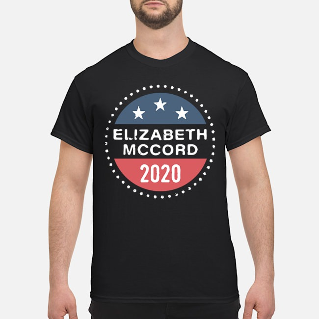 Elizabeth Mccord 2020 American Logo Shirt