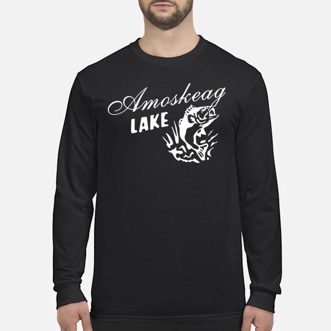 Grown up amoskeag lake Long-Sleeved