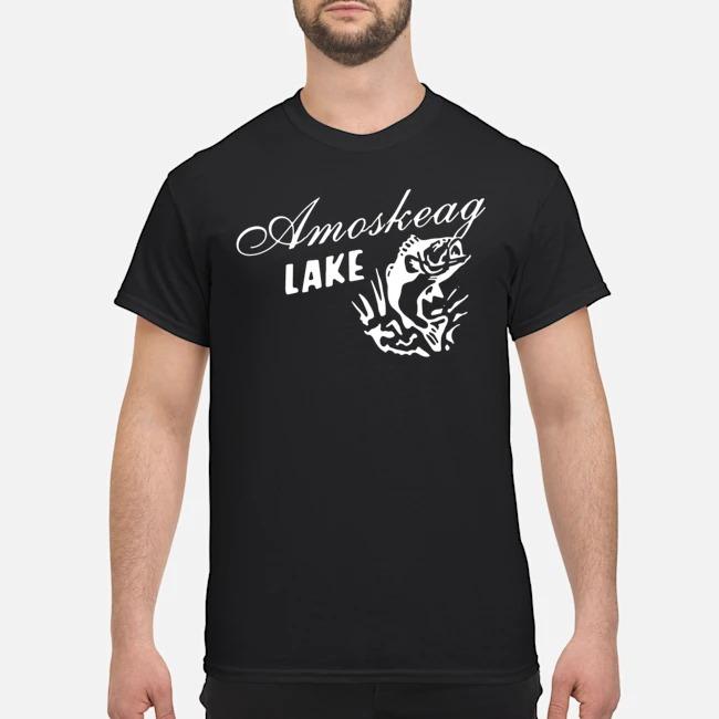 Grown up amoskeag lake shirt