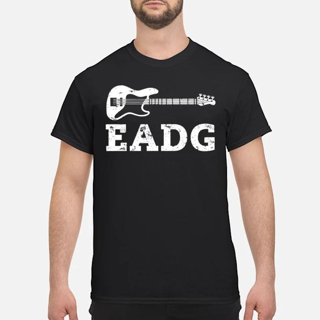 Guitar Bass Eadg Shirt