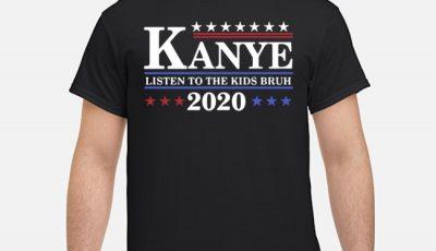 Kanye Listen To The Kids Bruh 2020 Long-Sleeved