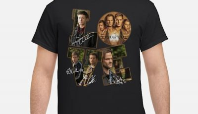 Love My Supernatural Signatures Shirt