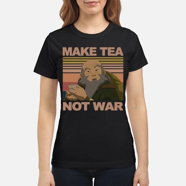 Official Make Tea Not War Avatar Iroh Vintage Ladies
