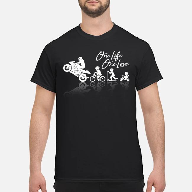 One Life One Love Biker Shirt