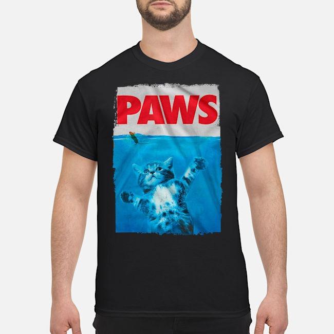 Paws Cat Kitten Meow Paws Shirt