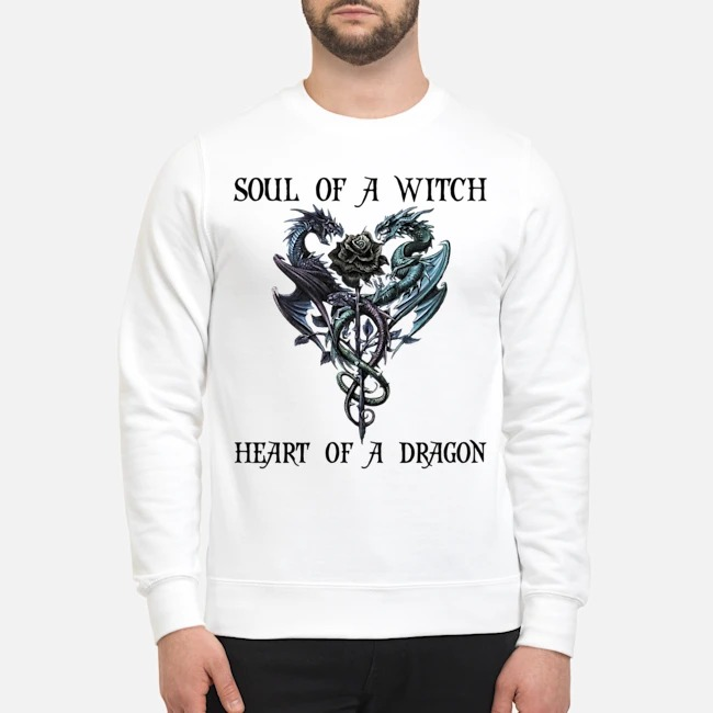 Soul of a witch heart of a dragon Sweater