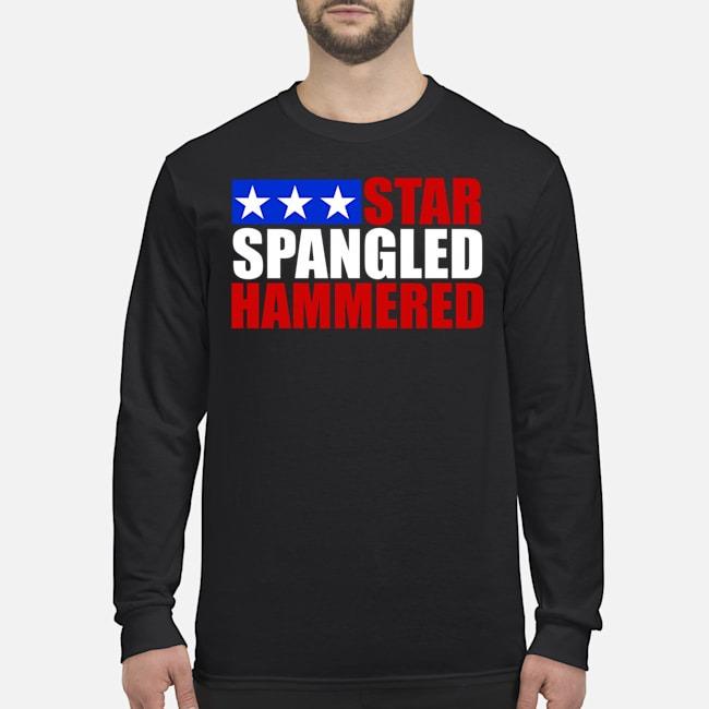Star Spangled Hammered Long-Sleeved
