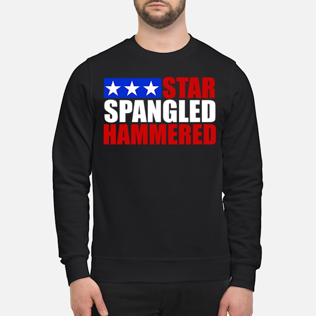 Star Spangled Hammered Sweater