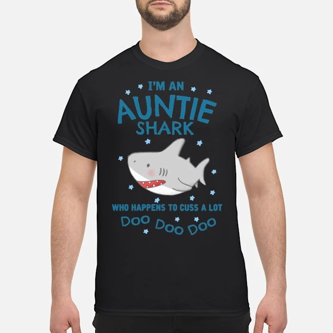 Baby Shark I'm An Auntie Shark Doo Doo Doo Shirt