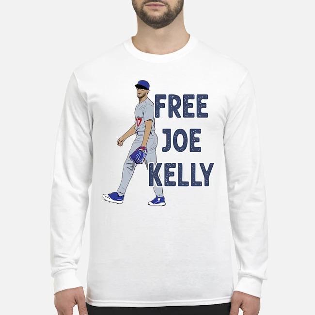 Free Joe Kelly tee Long-Sleeved