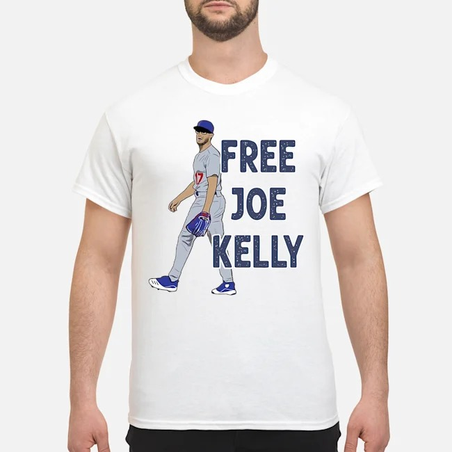 Free Joe Kelly tee shirt