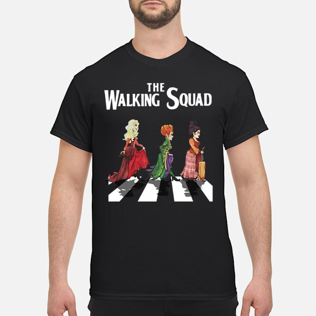 Hocus Pocus The Walking Squad Halloween shirt