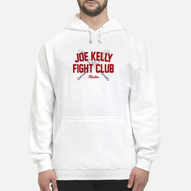 Joe Kelly fight club Boston tee Hoodie