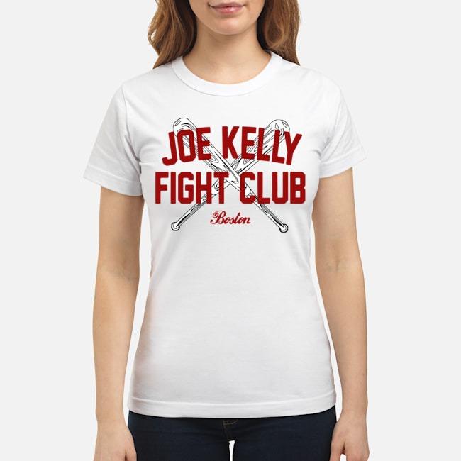 Joe Kelly fight club Boston tee Ladies