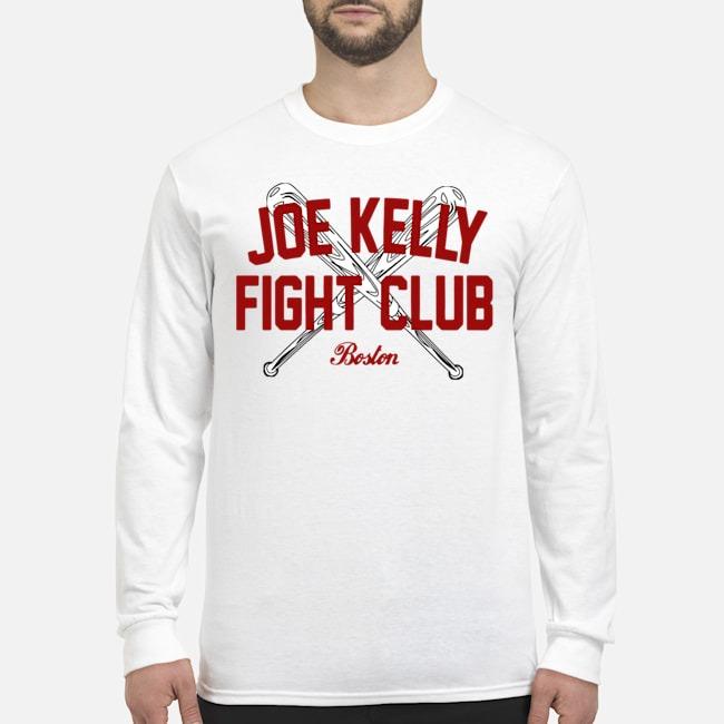 Joe Kelly fight club Boston tee Long-Sleeved