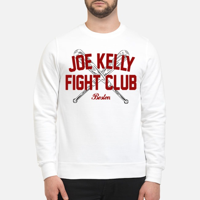 Joe Kelly fight club Boston tee Sweater
