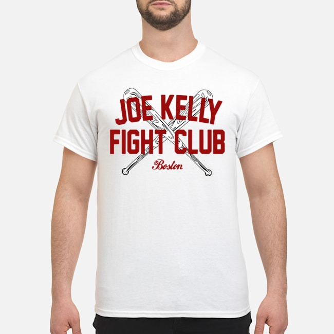Joe Kelly fight club Boston tee shirt