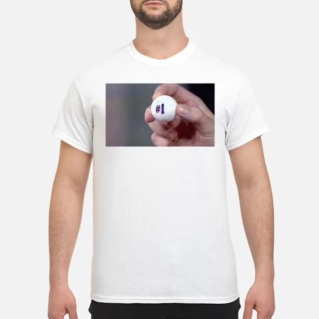 NY #1 pick tee shirt