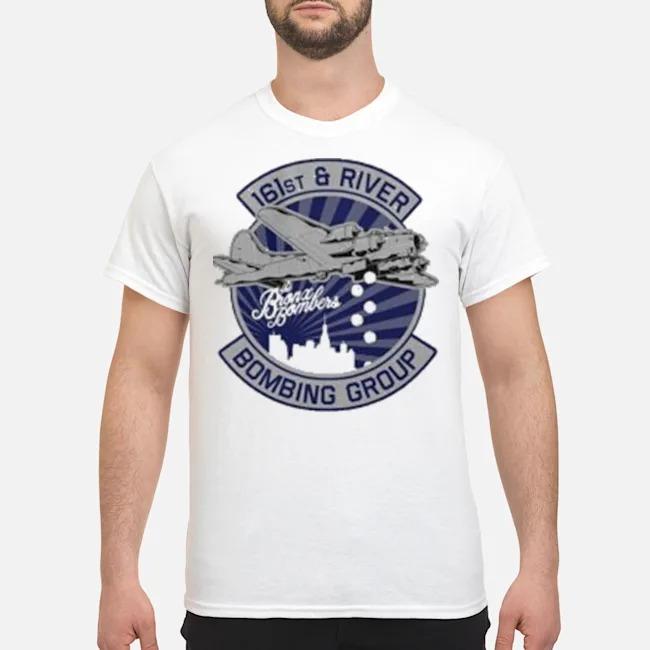 NY Bronx Baseball 161st Bomb Squadron T-Shirt
