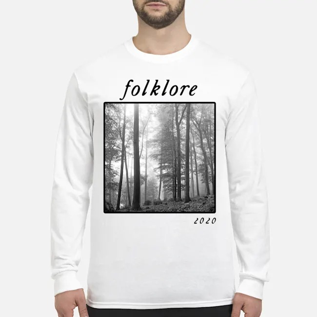 Taylor I love folklore music new Long-Sleeved